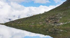 Krajobrazowa góra w Szwajcaria Zdjęcia Royalty Free