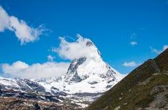 Krajobrazowa góra w Szwajcaria Zdjęcia Stock