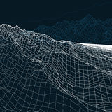 Krajobrazowa geometria poli- Obrazy Royalty Free