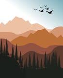 krajobrazowa góra Obraz Stock