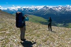 krajobrazowa halna fotografia Zdjęcie Stock