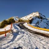 krajobrazowa halna zima Obrazy Stock