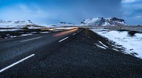krajobrazowa Iceland droga Obrazy Stock