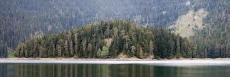 krajobrazowa jezioro góra Zdjęcie Royalty Free
