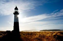 krajobrazowa latarnia morska Obrazy Royalty Free