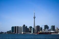 krajobrazowa linia horyzontu Toronto Obrazy Stock