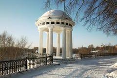 krajobrazowa miasto zima Zdjęcie Stock