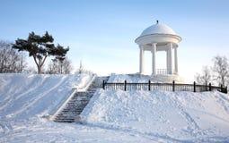 krajobrazowa miasto zima Fotografia Stock