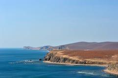 krajobrazowa morska wiosna Fotografia Royalty Free