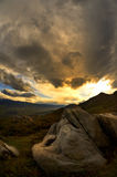 krajobrazowa naturalna burza Obrazy Stock