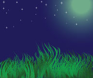 krajobrazowa noc Obraz Stock