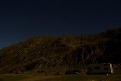 krajobrazowa noc Obrazy Stock