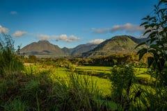 Krajobrazowa płonąca telong góra Obraz Royalty Free