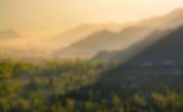 Krajobrazowa plama Obrazy Royalty Free