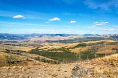 Krajobrazowa pobliska góra Washburn Zdjęcia Royalty Free