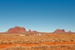 krajobrazowa pomnikowa dolina Zdjęcie Stock