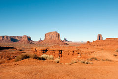 krajobrazowa pomnikowa dolina Fotografia Royalty Free