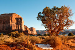 krajobrazowa pomnikowa dolina Obrazy Royalty Free