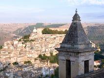 krajobrazowa Ragusa malownicza wioski Zdjęcia Royalty Free