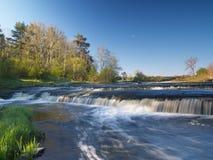 krajobrazowa rzeczna wiosna Fotografia Royalty Free
