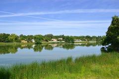 krajobrazowa rzeka Zdjęcia Stock