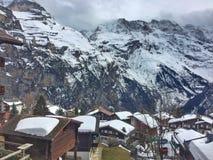 krajobrazowa sceniczna zimy Zdjęcie Royalty Free