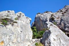 krajobrazowa skała Obrazy Stock