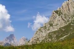 Krajobrazowa skalista góra Zdjęcia Royalty Free
