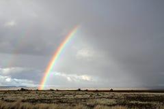 krajobrazowa tęcza Zdjęcie Stock