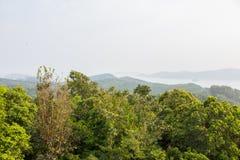 Krajobrazowa widok góra Fotografia Stock