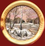 krajobrazowa wiosna royalty ilustracja
