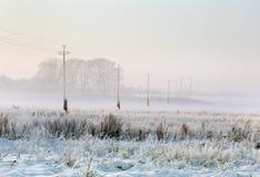 krajobrazowa zima Obraz Stock