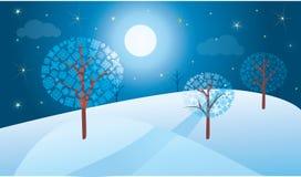 krajobrazowa zima Zdjęcia Stock