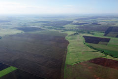 Krajobrazowe łąki Obrazy Royalty Free