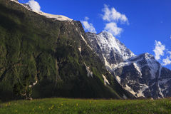 krajobrazowe Caucasus góry Zdjęcie Royalty Free