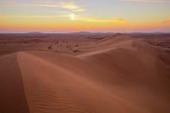 Krajobrazowe diuny Fotografia Stock
