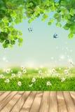 krajobrazowe element wszystkie warstwy oddzielają lato wektor Zdjęcia Stock