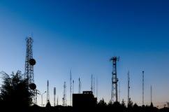 krajobrazowe telekomunikacje Obrazy Royalty Free