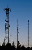 krajobrazowe telekomunikacje Zdjęcie Royalty Free