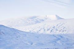 krajobrazowy śnieżny Obraz Stock