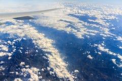 krajobrazowy antena widok Fotografia Royalty Free