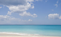 krajobrazowy Antigua morze Zdjęcia Stock