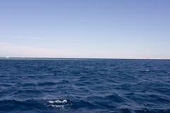 krajobrazowy błękit morze Zdjęcia Stock