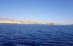 krajobrazowy błękit morze Obraz Stock