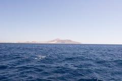 krajobrazowy błękit morze Fotografia Stock