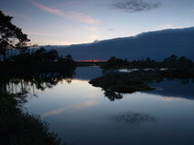 krajobrazowy bagna marimetsa Fotografia Stock