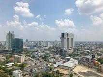 Krajobrazowy Bangkok miasto obrazy royalty free