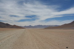 krajobrazowy bolivian plateau Zdjęcie Royalty Free