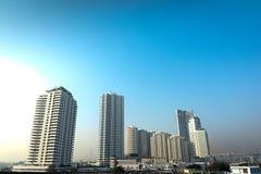 Krajobrazowy budynek Bangkok, Tajlandia Zdjęcia Royalty Free