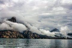 krajobrazowy burzowy Obrazy Royalty Free